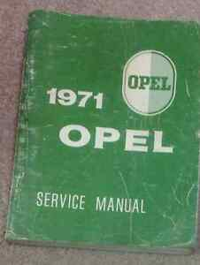 1971 opel gt kadett service shop repair workshop manual book rh ebay co uk opel gt factory service manual opel gt service manual pdf
