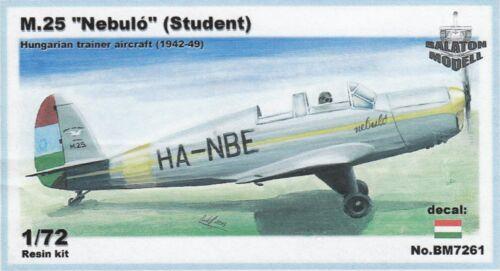 "bm7261// Balaton Modell Ungarischer Trainer M.25 ""Nebulo"" 1:72 Resin"