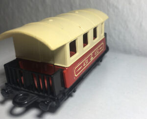 Matchbox-Eisenbahn-Lesney-Nr-44-Passenger-Coach-Zug-Waggon-Railway-Rail-Train