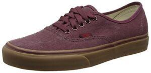 08ba410a9f Vans Authentic Purple Port Royale Mens Womens Washed Canvas Gum Sole ...