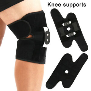 Knee-Support-Brace-Strap-Medical-Double-Metal-Hinged-Open-Patella-New
