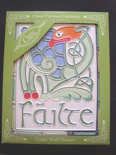 Sacred Messenger Celtic Wall Plaque from Clara Failte or Slainte