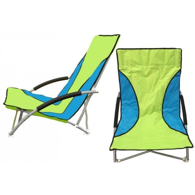 X2 KlappCamping Angeln DoppelStuhl Sitzplatz Strand Garten im Freien grauGrün Blau