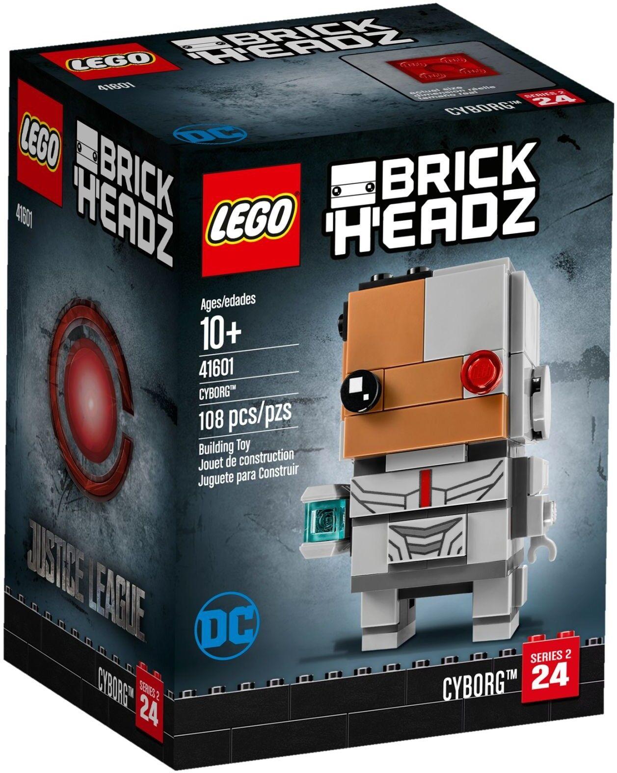 LEGO® BrickHeadz 41601 Cyborg™ NEU OVP_ NEW MISB NRFB
