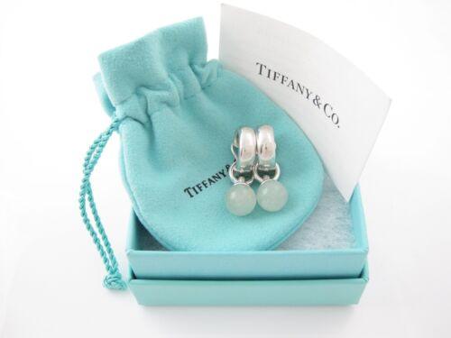 Tiffany & Co RARE Silver Green Aventurine Stone Fa