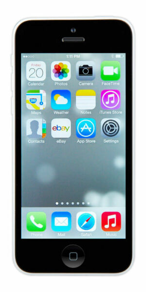iphone 5c ebay apple iphone 5c 8gb white at amp t a1532 gsm ebay 11097