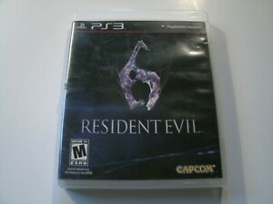 Resident-Evil-6-Sony-PlayStation-3-2012-Complete-PS3-Game-CIB