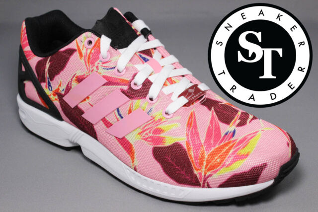 f314da155 ... netherlands adidas originals zx flux b34520 solar floral light pink  black ds size 9 38ffe b6fff