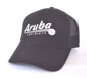 Image is loading ARUBA-DUTCH-CARIBBEAN-ABC-Islands-Trucker-mesh-Ball- 9564e33642d4
