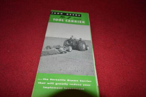 2 Drawn Tool Carrier Dealer Brochure DCPA3 John Deere No