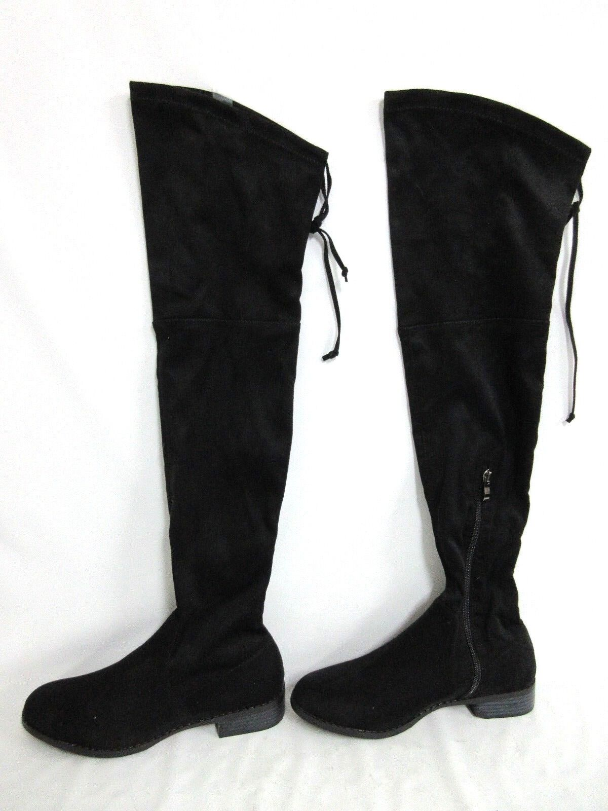 New Catherine Malandrino Morcha Suede Tall Over the Knee Boots Size  7.5  3