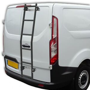 Transit Custom Van Rear Door Ladder 6 Rung With Brackets