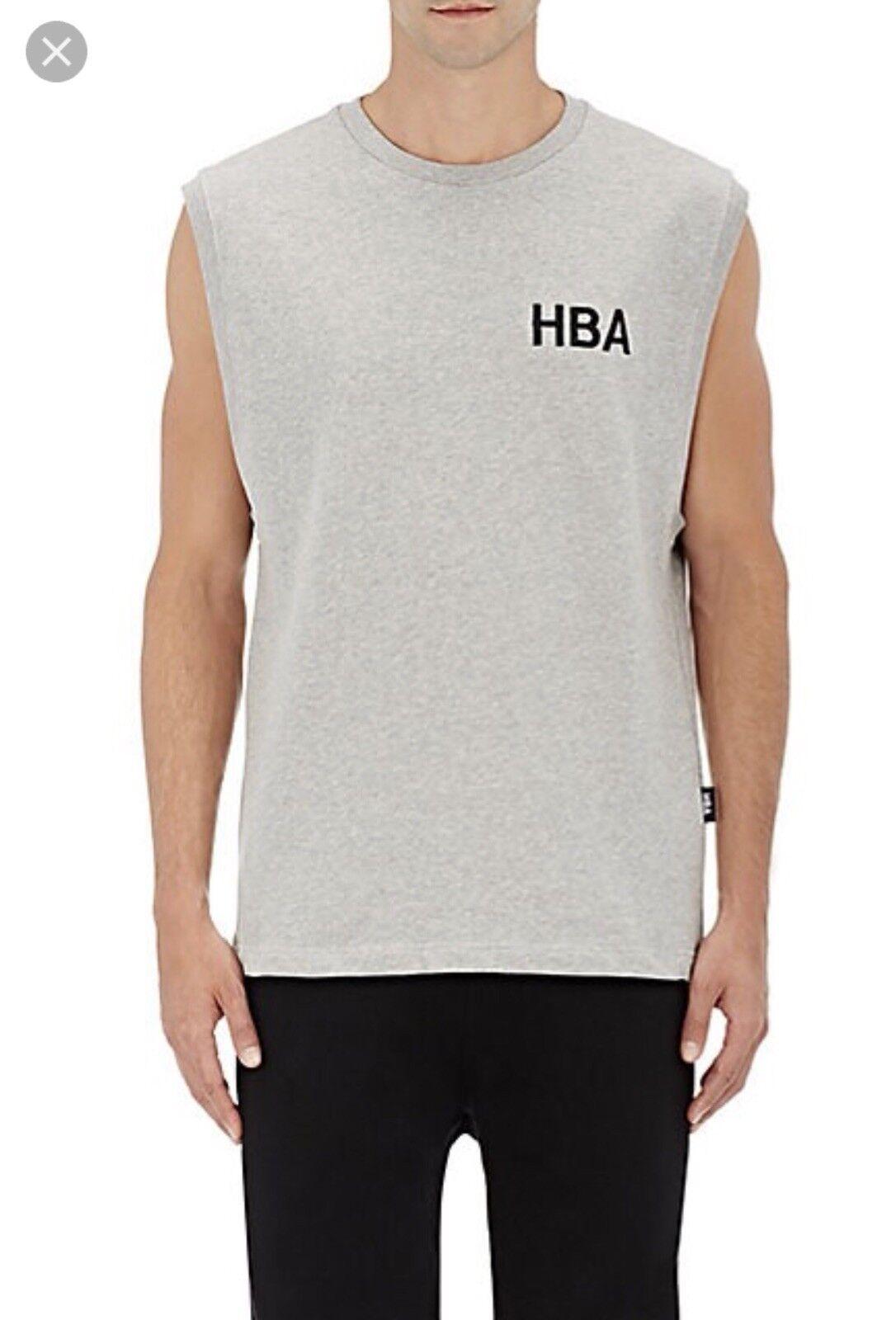 Hood By Air Tank Sleeveless sweat Shirt Crew grigio   grigio size M 4ee7a7