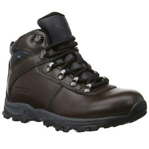 Ladies Womens Hi Tec Leather Walking Hiking Waterproof Ankle Boots Shoes Size