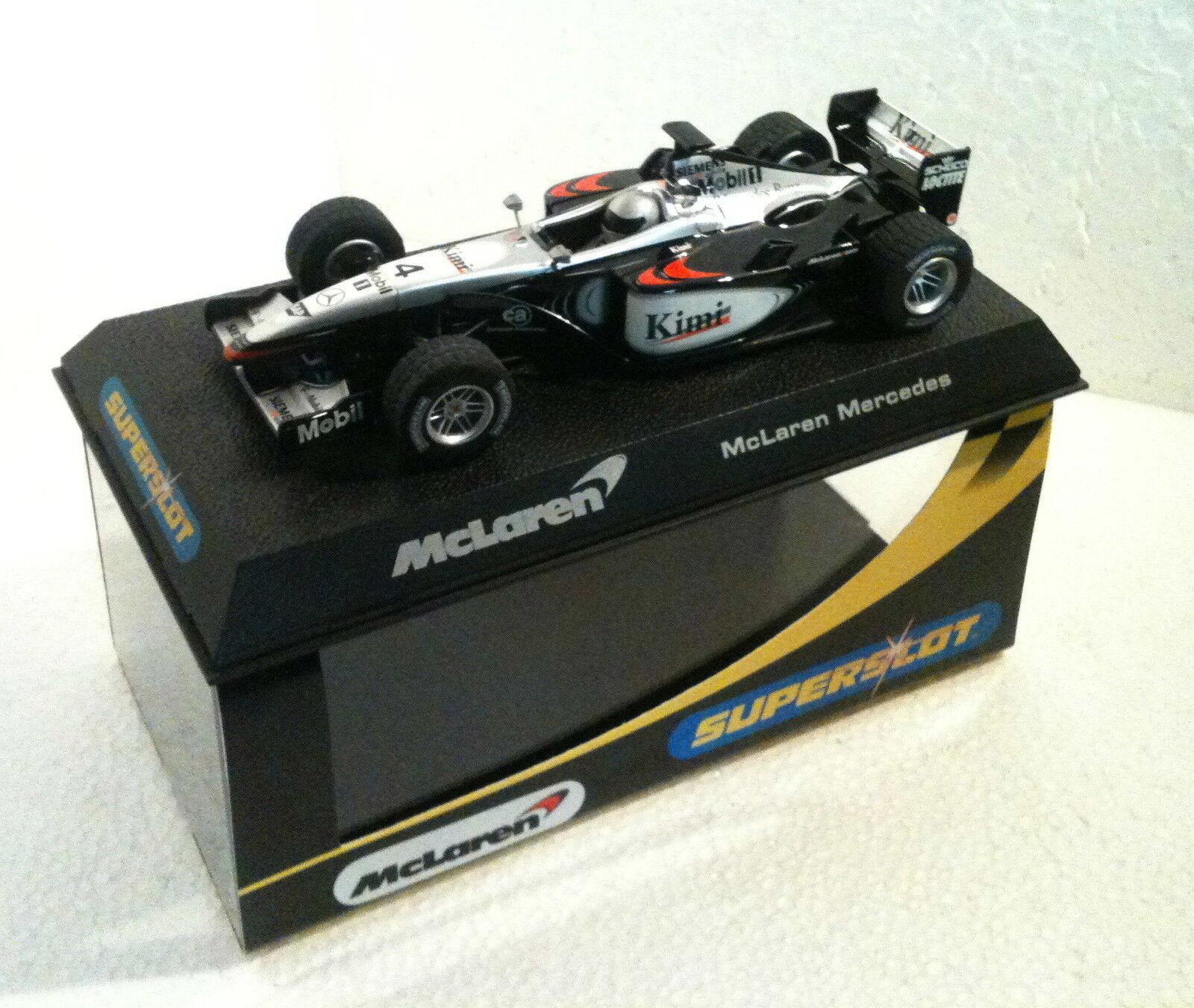 QQ H 2416 Superslot Mc Laren Mercedes F1 P4 -16 Kimi 2002 - Scalcextic Ru
