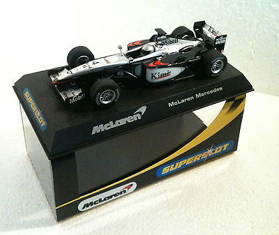 Objective Qq St Scalextric Uk To Clear Out Annoyance And Quench Thirst 2416 Bestellung Mc Laren Mercedes F1 P4-16 # 4 Kimi 2002