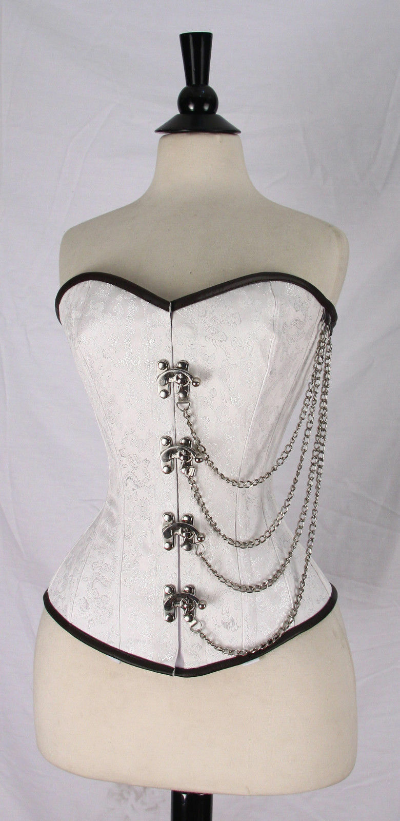 New Broe Corset Over bust SteamPunk Lace Up