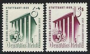 Deutsches-Reich-aus-1939-postfrisch-MiNr-692-693-Reichsgartenschau