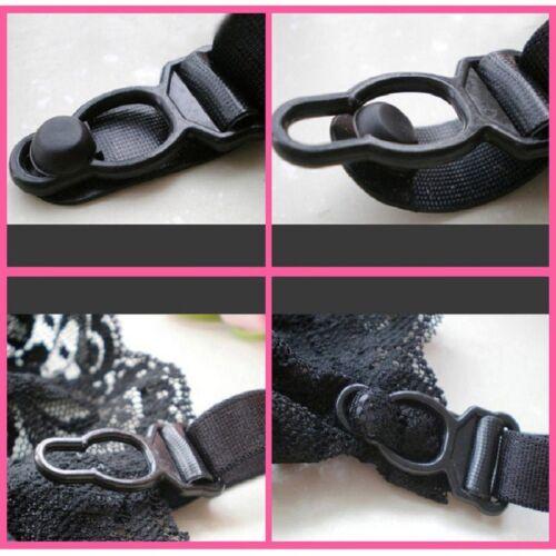 Women Lace G-String Suspender Garter Belt Matching Thong Set Hold With Stockings
