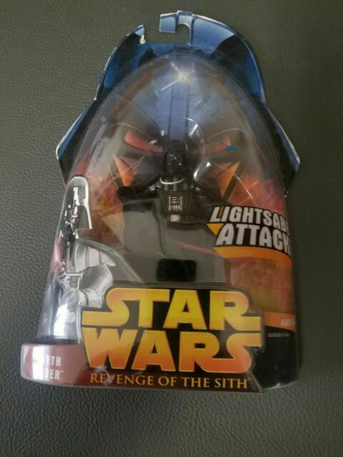 Disney Star Wars Darth Vader Revenge Of The Sith Action Figure Toy Hasbro 2005 For Sale Online Ebay