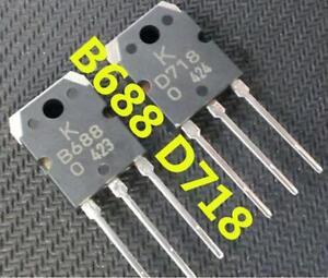 Details about 1pair(2pcs) 2SB688 & 2SD718 SANKEN Transistor B688 & D718 NEW