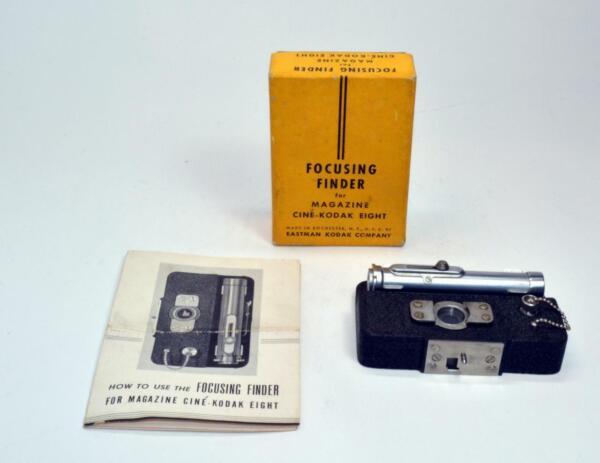 CompéTent Nos Kodak Concentration Viseur Pour Revue Ciné Kodak Huit Avec Boîte, Manuel Bon Pour L'éNergie Et La Rate