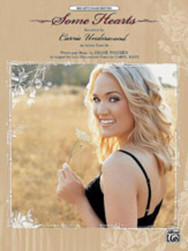 ; Underwood ALFRED BN Some Hearts Piano//Vocal//Guitar Singles Carrie 25848