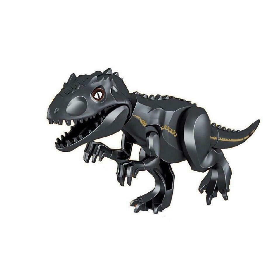 1//3X Jurassic World Fallen Kingdom INDORAPTOR Indominus Dinosaur Fit Lego Figure
