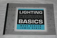 Lighting Design Basics By Mark Karlen, James R. Benya And James Benya (2004