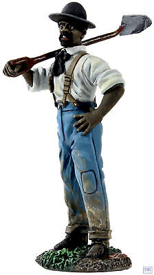 B31220 W.britain Labourer With Shovel American Civil War Collection