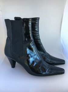 outlet good selling Aquatalia Patent Leather Studded Boots cheap sale cheap free shipping clearance best 5c4EqRkh