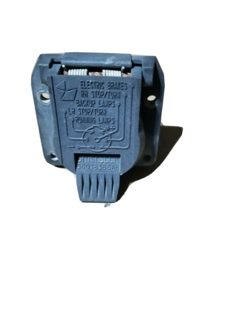 Diagram Nos Oem Genuine Mopar Trailer Wiring 7 Way Pin Connector 56038366ab 56019824
