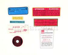 Fiat 600 Sticker Package New