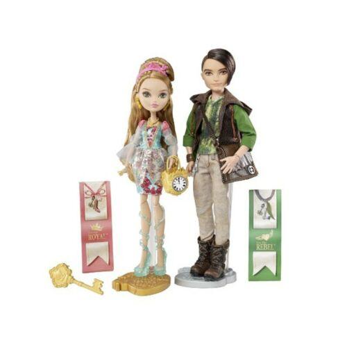 Ever After High Ashlynn Ella e Hunter Huntsman pacco doppio Mattel BFX06