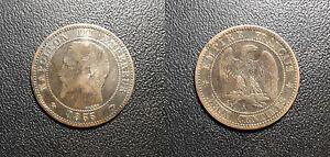 Napoleon-III-2-centimes-tete-nue-1855-A-ancre-Paris-F-107-20