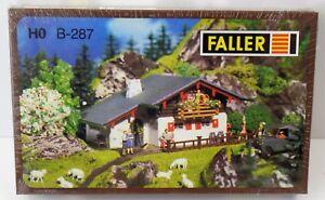 Faller-h0-Berghaus-b-287-Embalaje-original-nuevo-New