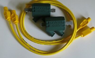 Honda CBR900RR  3 ohm Dyna Performance Ignition Coils /& Taylor Leads Yellow