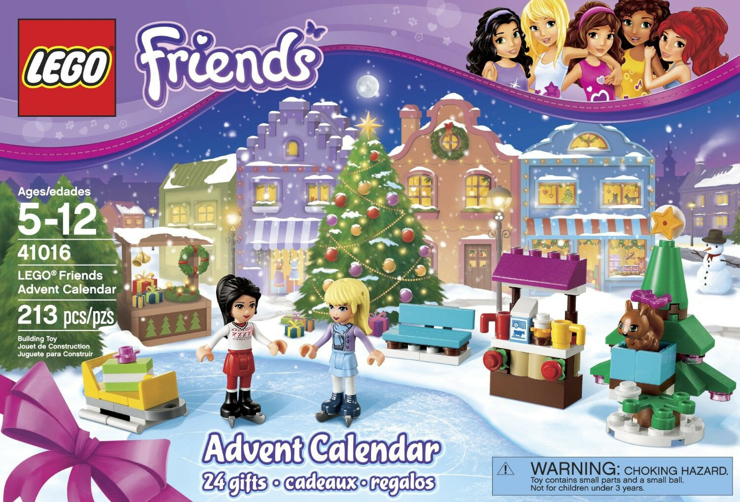 LEGO 2013 Friends Advent Calendar 41016