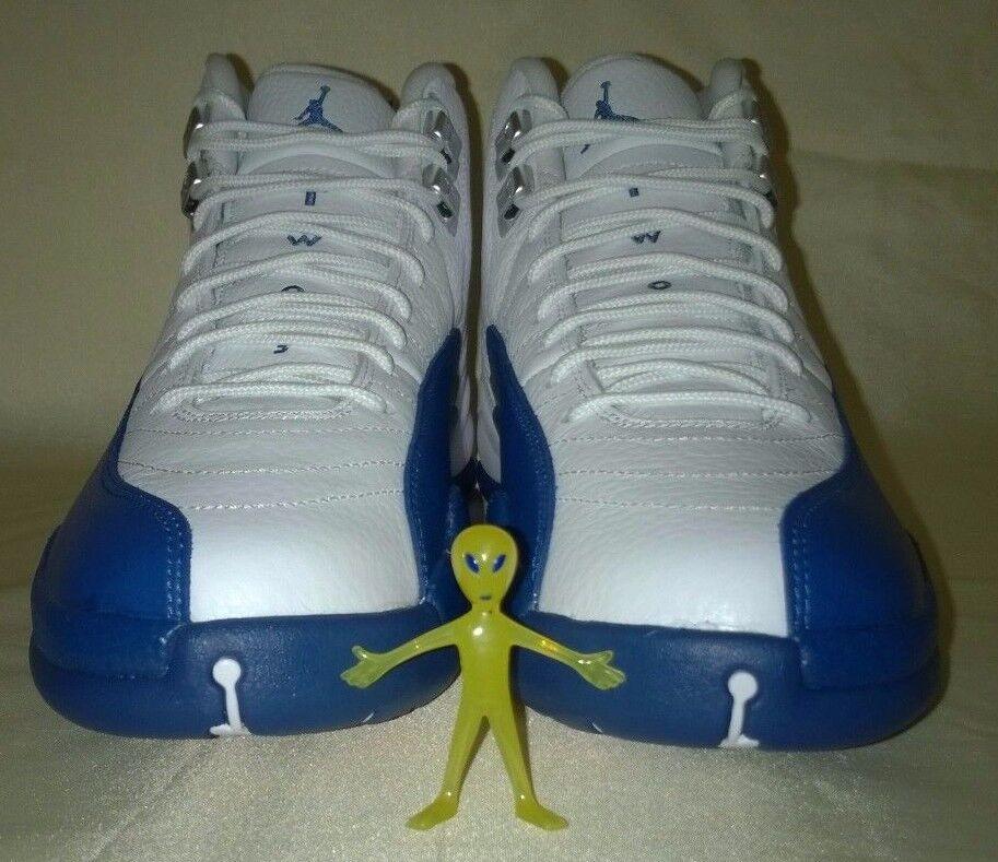 DS Nike Air Jordan 12 BNIB Retro French Blue Men's Size 8.5 13069013 BNIB 12 fa6430