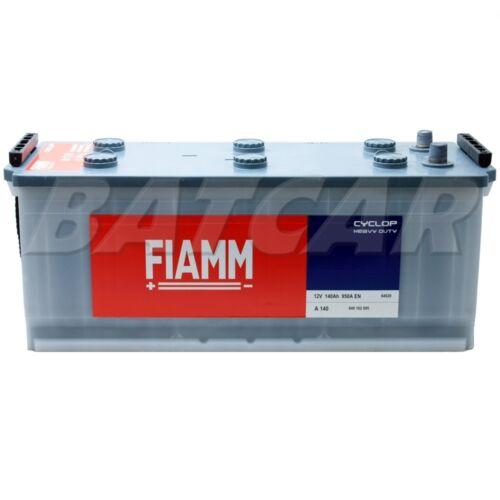 Autobatterie Starterbatterie LKW Batterie FIAMM CYCLOP HD 12V 140Ah 950A//EN