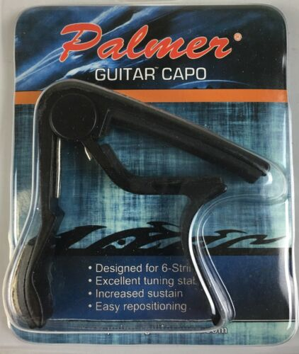 Capo For Acoustic Guitar Negra O Gris Sordina Para Guitarra Acoustica