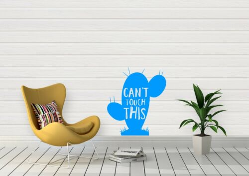 Cant Touch This Cactus Spikes Love Inspired Design Wall Art Decal Vinyl Sticker