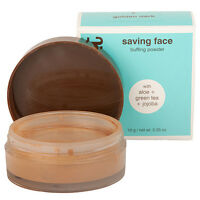 2 X Hissyfit Saving Face Buffing Powder - 5 Tan - 0.36 Oz/10 Each