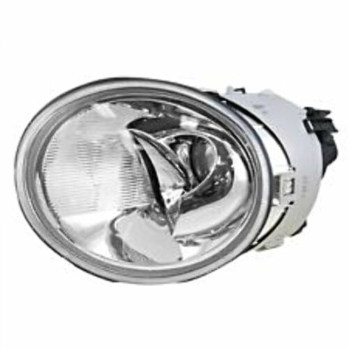 Fits 02-05 VW Beetle Turbo S Left Driver Side Halogen Headlight Assembly