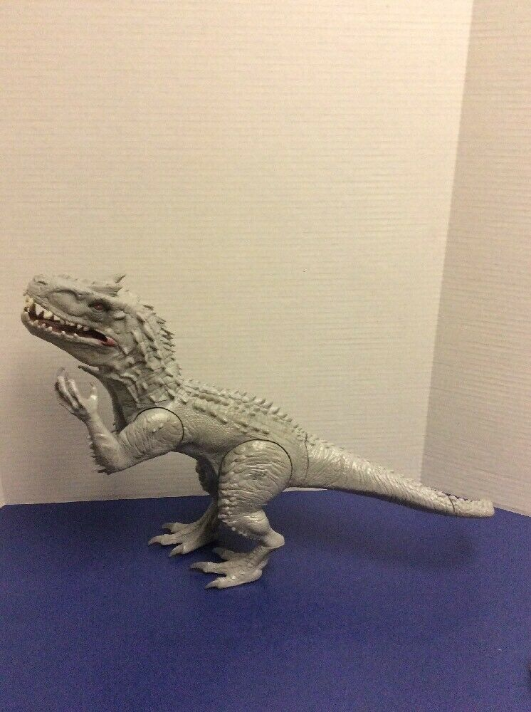 """2014 Jurassic Welt Indominus Rex 20"""" Figure With Lichts And Sounds - Rare"""