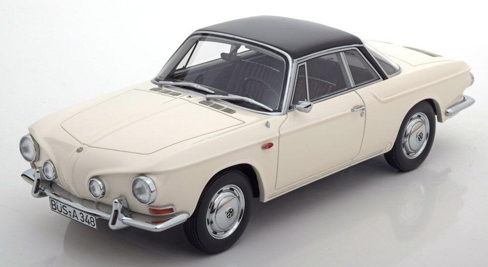 ventas al por mayor 1961-1969 Volkswagen Karmann Ghia T34 blancoo blancoo blancoo   Negro Bos Modelos Le de 504 1 18  tienda en linea