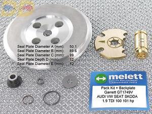 pack kit de reparation turbo garrett vw bora 1 9 tdi 100 101 ch gt1749v stage3 ebay. Black Bedroom Furniture Sets. Home Design Ideas