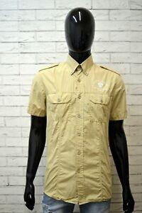 Camicia-Uomo-NORTH-SAILS-Taglia-L-Maglia-Manica-Corta-Polo-Camicetta-Shirt-Men-039-s