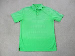 Nike-Golf-Tour-Performance-Polo-Shirt-Adult-Medium-Green-DriFit-Golfer-Mens-A7