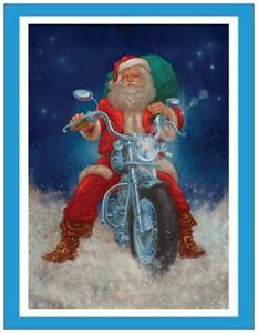 Your Words Motorcycle Santa Harley Personal Business Custom